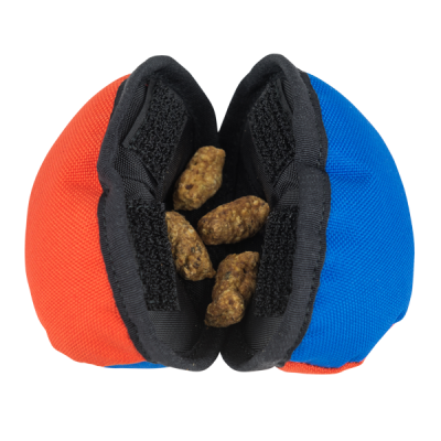 Tug-E-Nuff Dog Gear – Open Clam – Treats